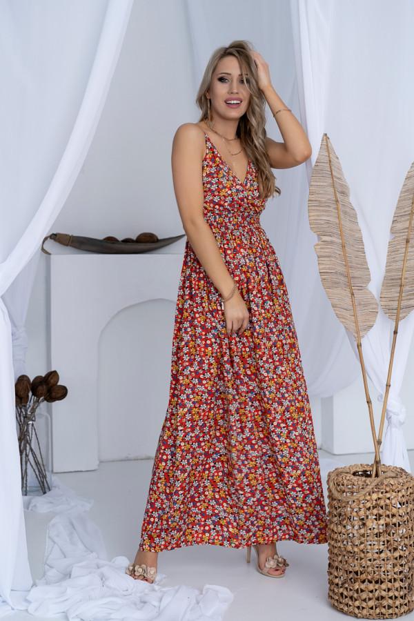 Sukienka ŁĄCZKA Miss Sara Slim 6