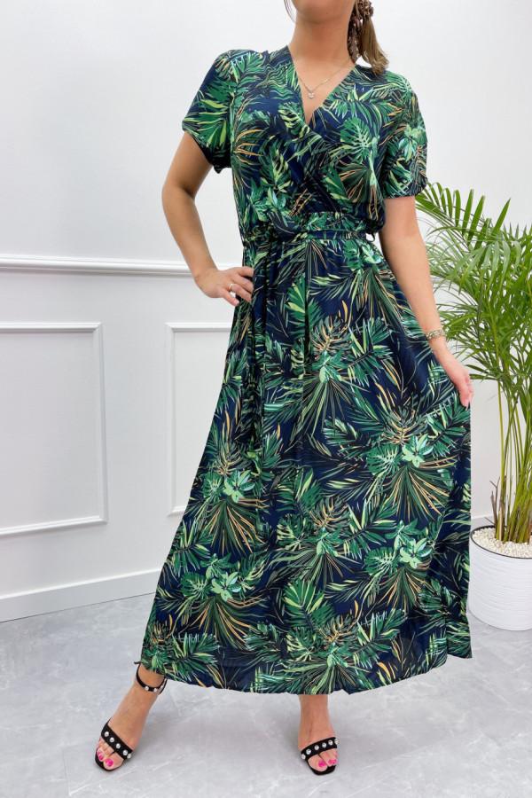 Sukienka HAWAII BLACK Miss Sara Sleeves