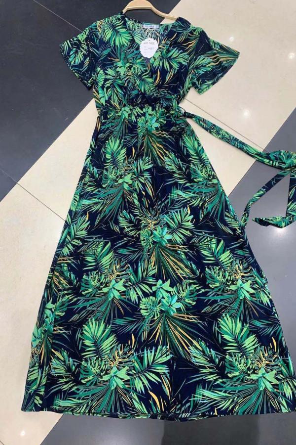 Sukienka HAWAII BLACK Miss Sara Sleeves 1