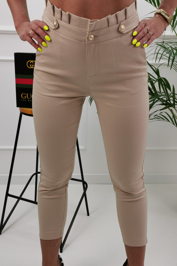 Spodnie GOLD BUTTON 4