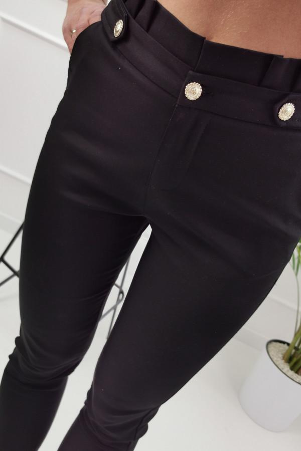 Spodnie GOLD BUTTON 5