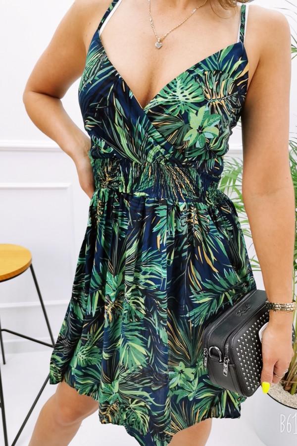 Sukienka HAWAII BLACK Miss Sara Short 3