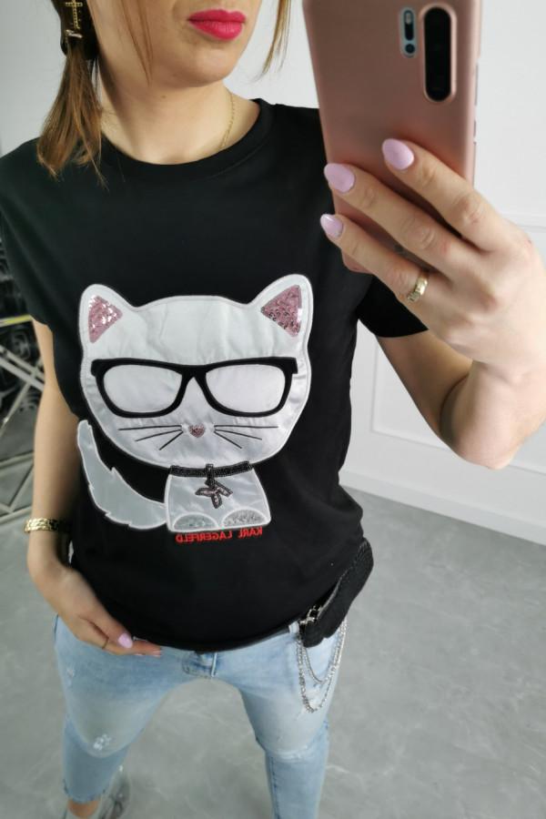 Tshirt CAT KARL