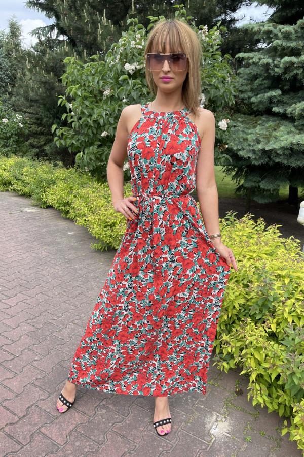 Sukienka MAKI Miss Sara Maxi 4