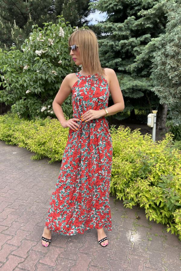 Sukienka MAKI Miss Sara Maxi 5