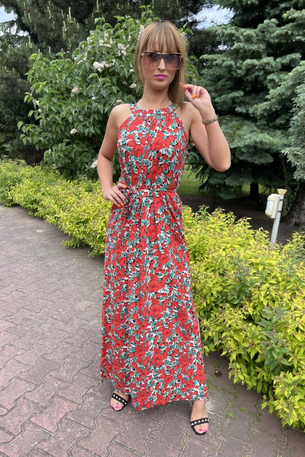 Sukienka MAKI Miss Sara Maxi 6
