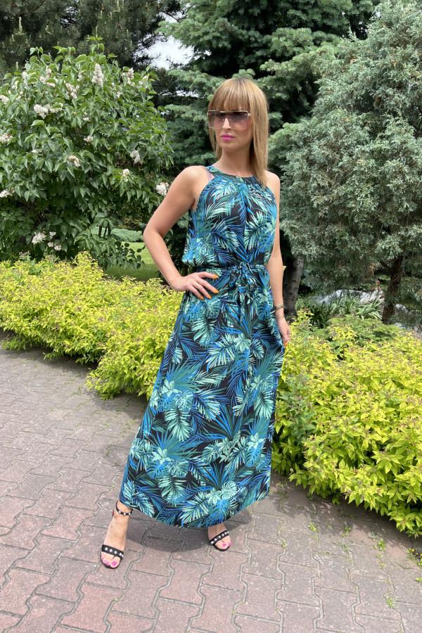 Sukienka HAWAII Miss Sara Maxi 4