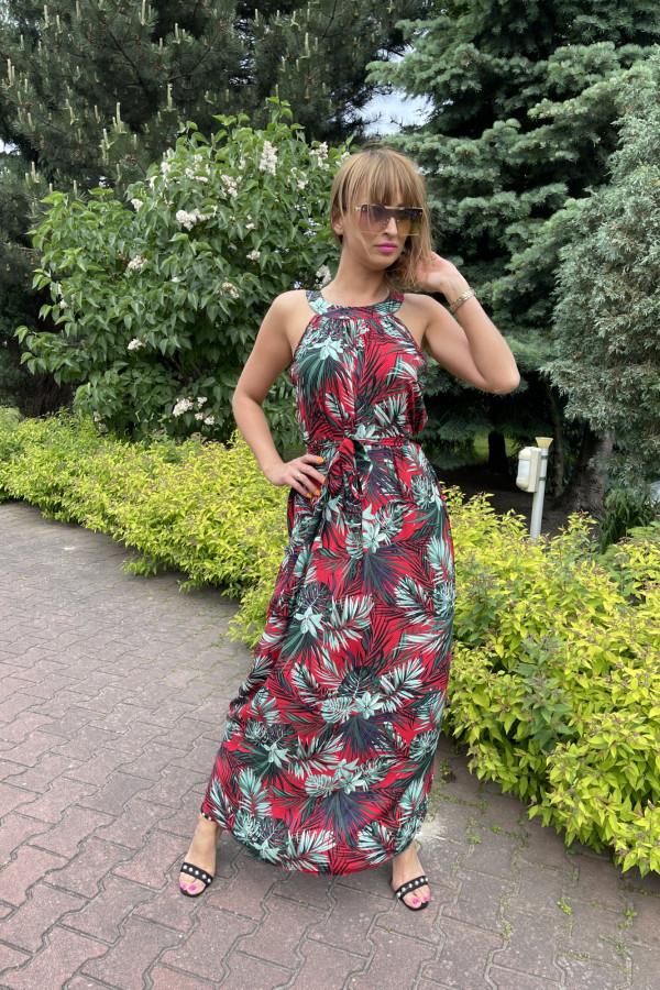 Sukienka HAWAII Miss Sara Maxi 6