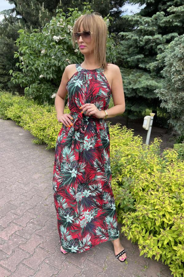 Sukienka HAWAII Miss Sara Maxi 7