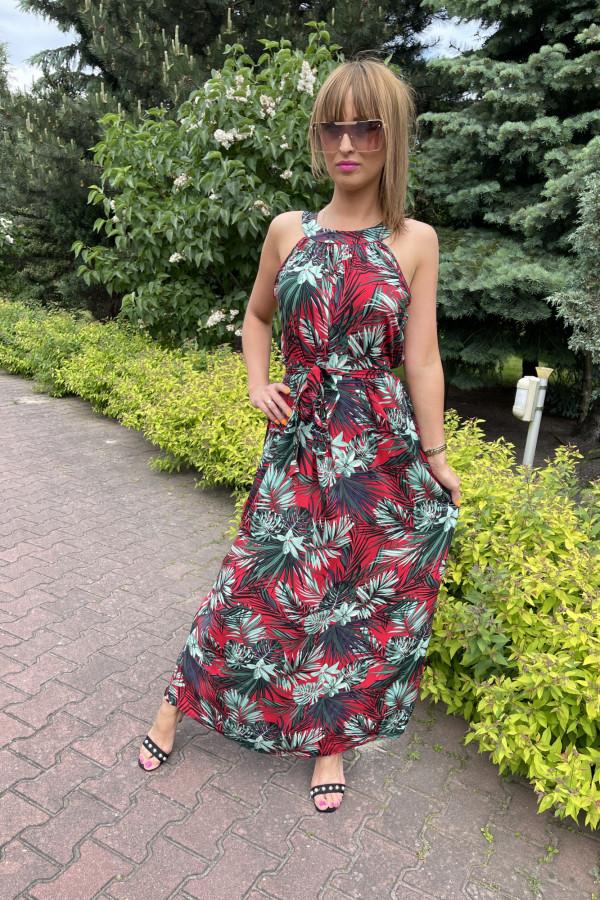 Sukienka HAWAII Miss Sara Maxi 8