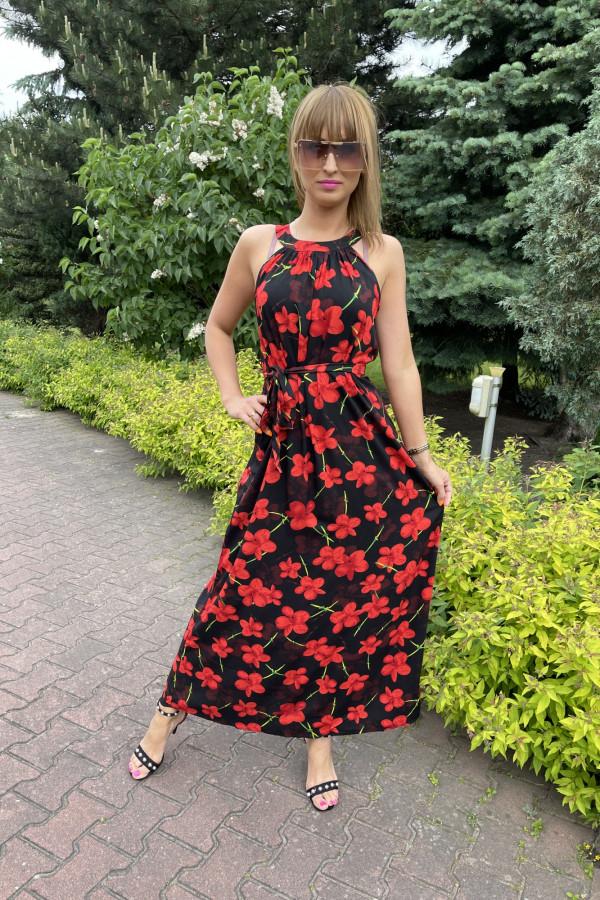 Sukienka RED POPPIES Miss Sara Maxi