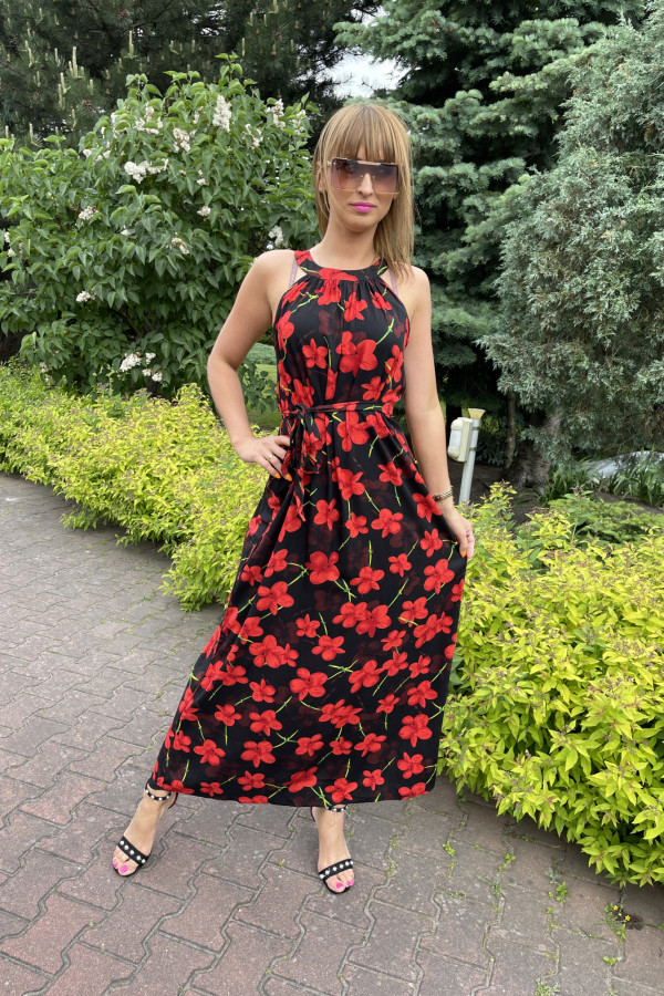 Sukienka RED POPPIES Miss Sara Maxi 1