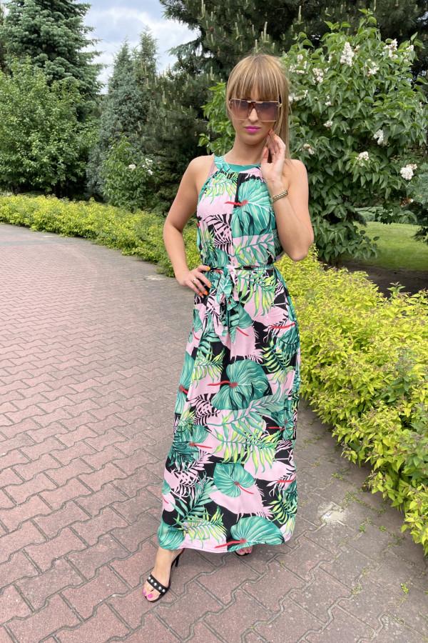 Sukienka LA PALMA Miss Sara Maxi 1
