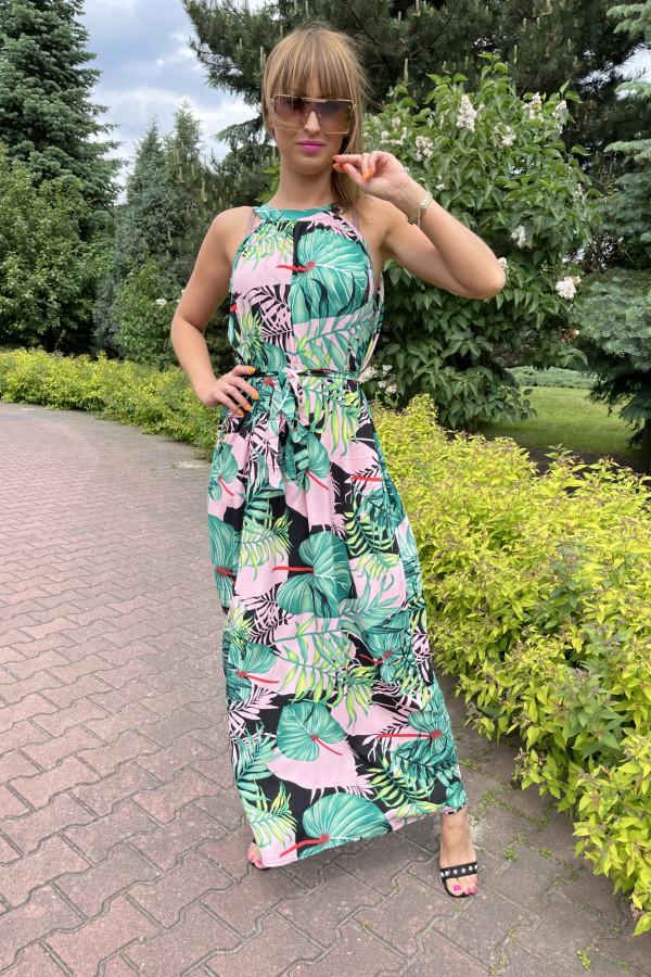 Sukienka LA PALMA Miss Sara Maxi 2