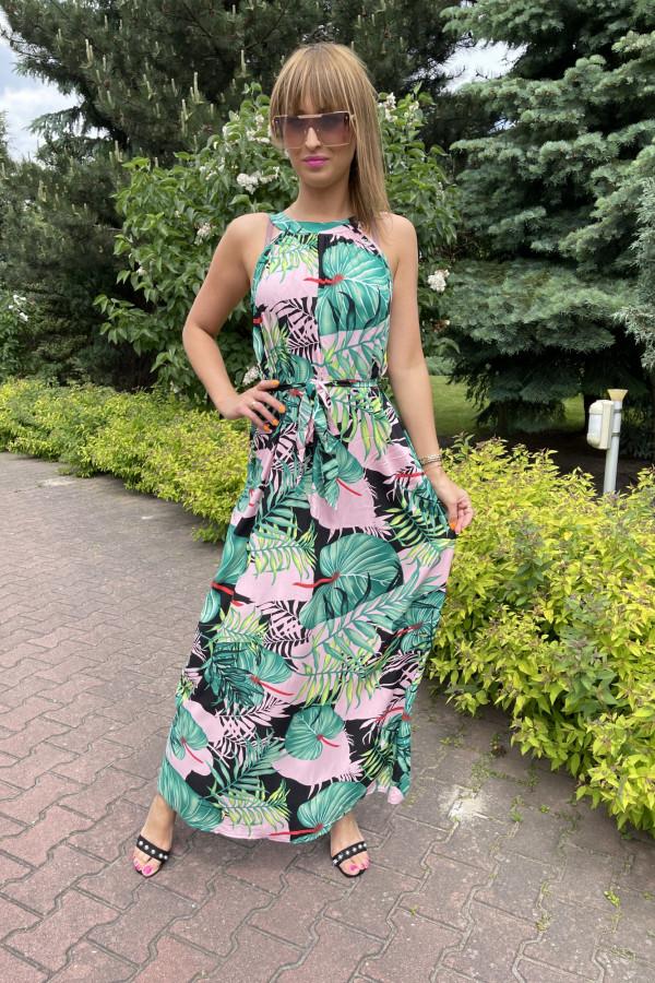 Sukienka LA PALMA Miss Sara Maxi 3