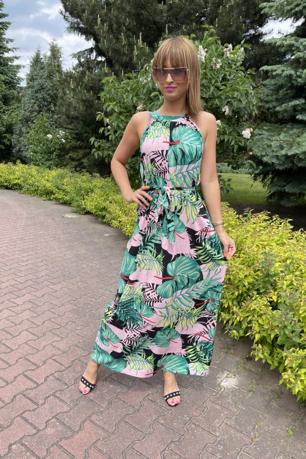 Sukienka LA PALMA Miss Sara Maxi 4