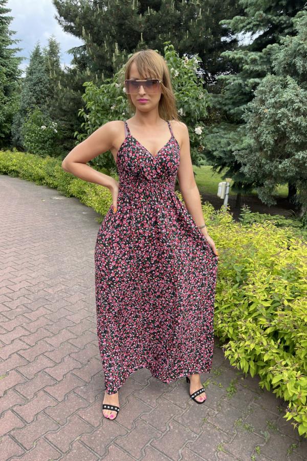 Sukienka FABIOLA Miss Sara Slim 15