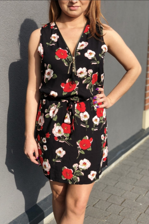 Sukienka LILAC Miss Sara Zip 1