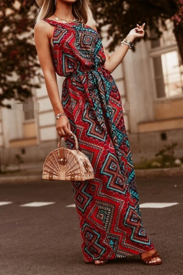 Sukienka ETNO Miss Sara Maxi 1