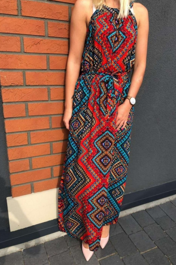 Sukienka ETNO Miss Sara Maxi 2
