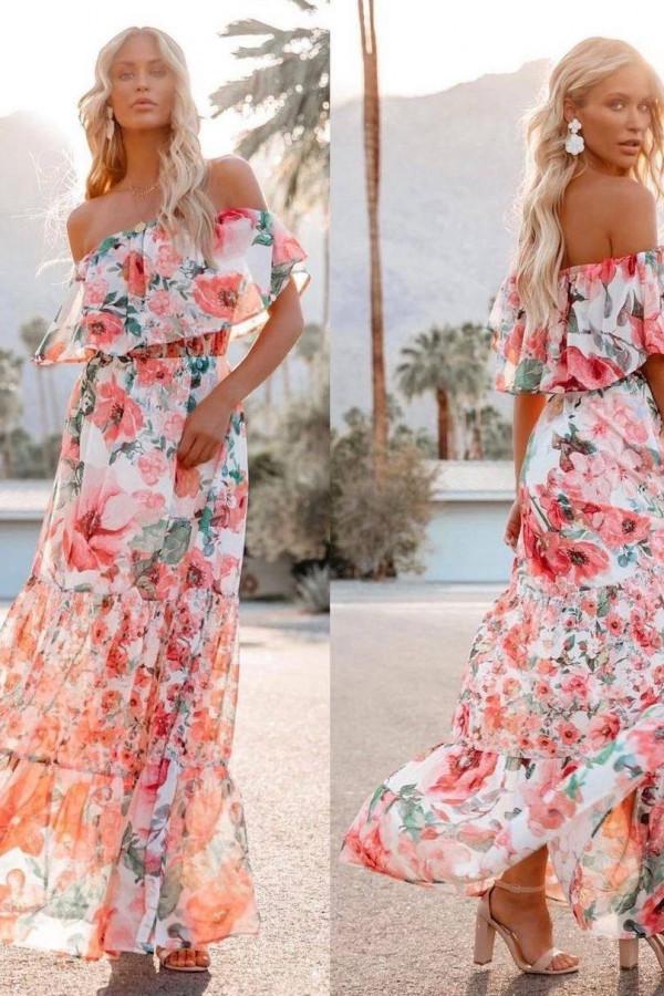 Sukienka FLORIDA FLOWER 1