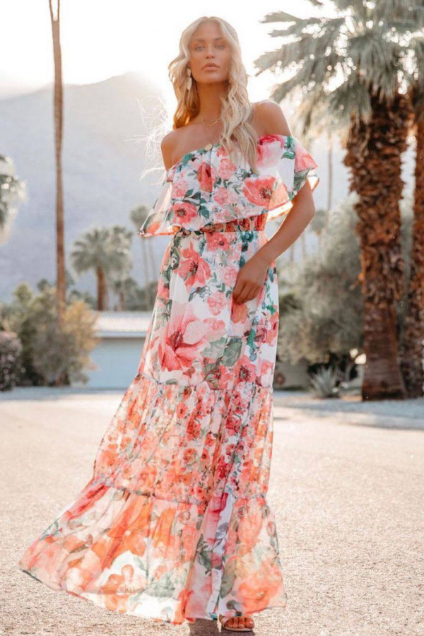 Sukienka FLORIDA FLOWER 4