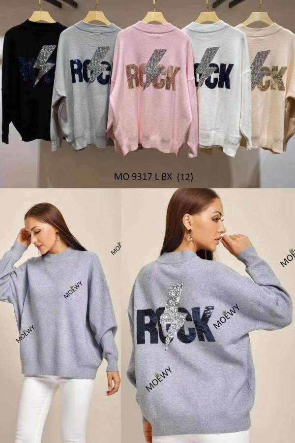 Sweter BŁYSKAWICA