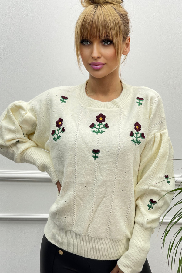 Sweter FLOWER GUCCI
