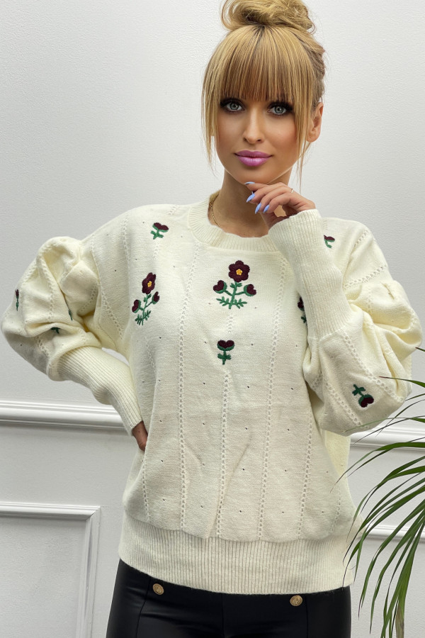 Sweter FLOWER GUCCI 3